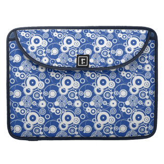 Mechanical circles pattern sleeve for MacBooks