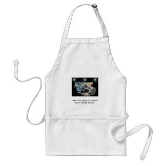 Mechanical Cooking Adult Apron