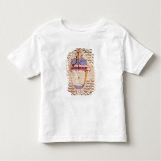 Mechanical device for pouring water toddler t-shirt