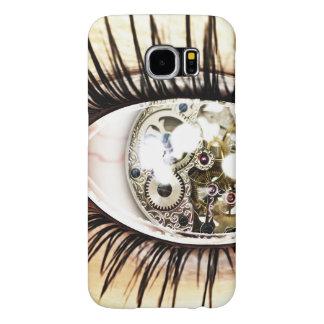 Mechanical Digital Illution Of Eye Samsung Galaxy S6 Case