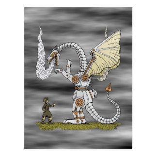 Mechanical Dragon Postcard