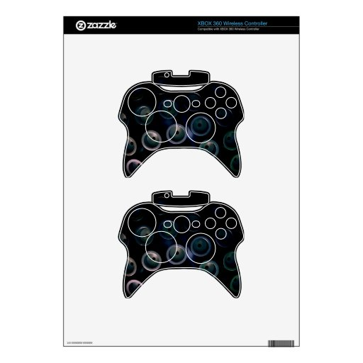Mechanical Dragonfly Eyes Xbox 360 Controller Skins