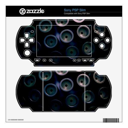 Mechanical Dragonfly Eyes Skin For Sony PSP Slim