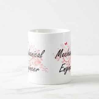 Mechanical Engineer Artistic Job Design with Butte Coffee Mug