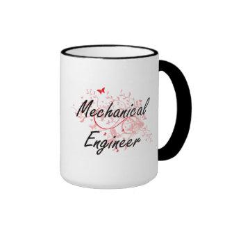 Mechanical Engineer Artistic Job Design with Butte Ringer Mug