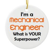 mechanical engineer ceramic ornament