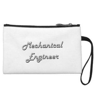 Mechanical Engineer Classic Job Design Wristlet Clutches