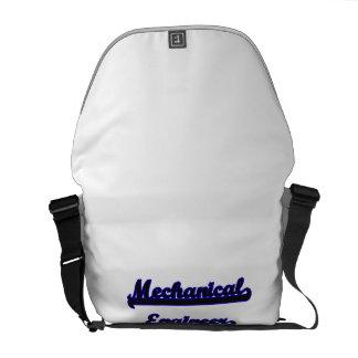 Mechanical Engineer Classic Job Design Messenger Bags