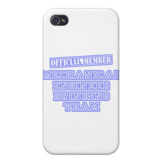 Mechanical Engineer Drinking Team Covers For iPhone 4
