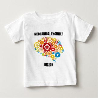 Mechanical Engineer Inside (Gears Brain) Baby T-Shirt