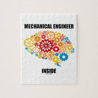 Mechanical Engineer Inside (Gears Brain) Jigsaw Puzzle