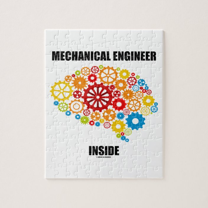 Mechanical Engineer Inside (Gears Brain