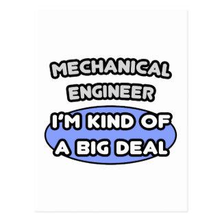 Mechanical Engineer...Kind of a Big Deal Postcard