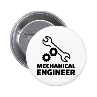 Mechanical engineer pinback button