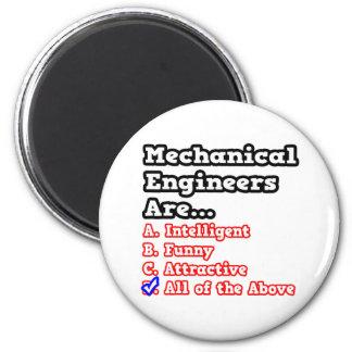 Mechanical Engineer Quiz...Joke Magnet