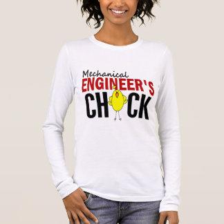 MECHANICAL ENGINEER'S CHICK LONG SLEEVE T-Shirt