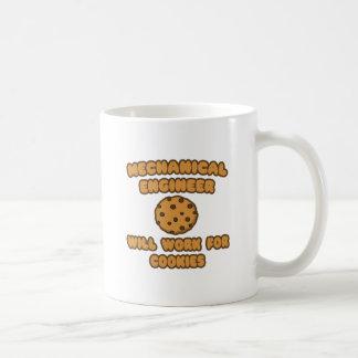 Mechanical Engineer  .. Will Work for Cookies Coffee Mug