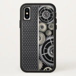 mechanical gears, metallic, mesh pattern, manly,