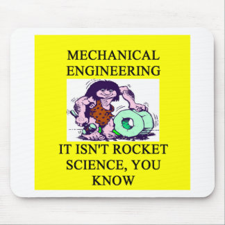 mechanical engineering rocket science mouse mat