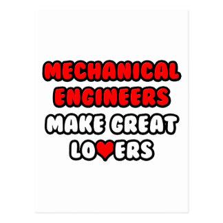 Mechanical Engineers Make Great Lovers Postcard