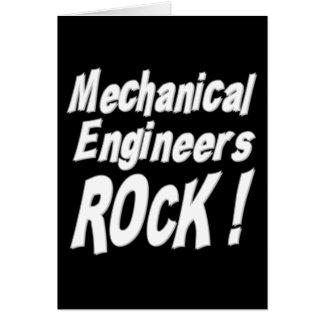 Mechanical Engineers Rock! Greeting Card