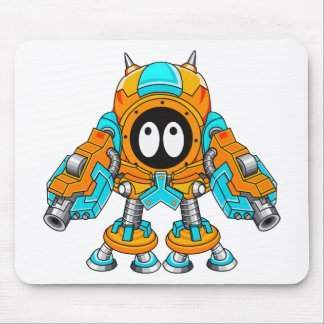Mechanical Fighter Gespzam Mouse Pad