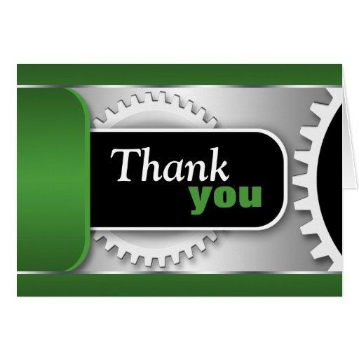 Custom writing company thank you cards