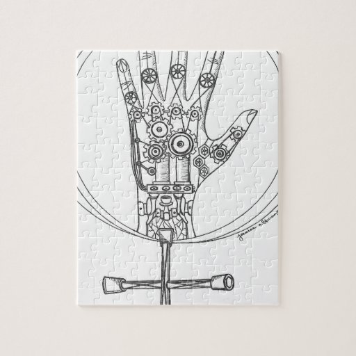 Mechanical Hand Jigsaw Puzzle
