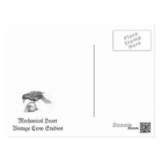 Mechanical Heart Postcard