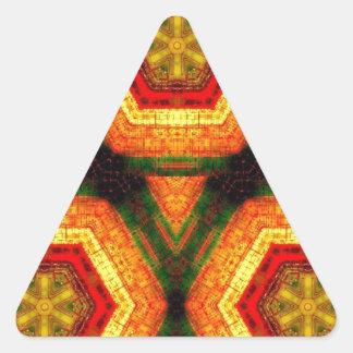 Mechanical Honeycomb Triangle Sticker