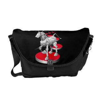 Mechanical Horse Rickshaw Messenger Bag