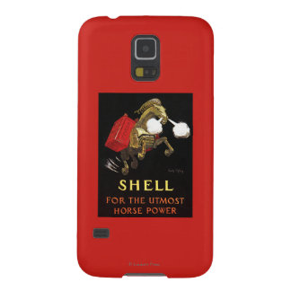 Mechanical Horse with Shell Oil Case For Galaxy S5