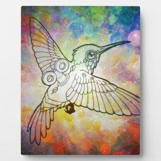 Mechanical Hummingbird Plaques