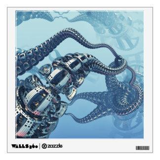 Mechanical Kraken Wall Decal