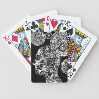 Mechanical Man Bicycle Playing Cards