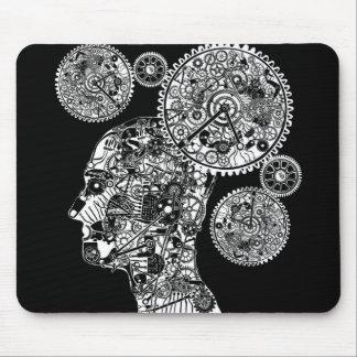 Mechanical Man Mouse Pad