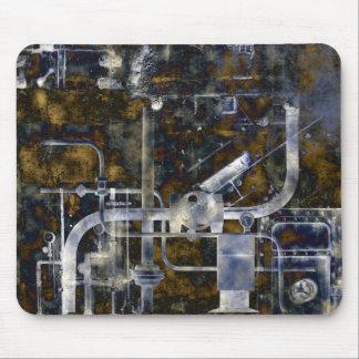 Mechanical Mayhem steampunk grunge Mouse Pad