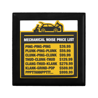 Mechanical Noise Price List Gift Box