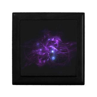 mechanical pink blue fractal cajas de regalo