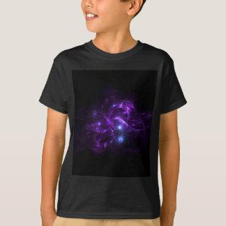 mechanical pink blue fractal T-Shirt