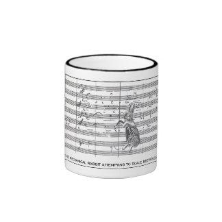 Mechanical Rabbit as Beethoven mug