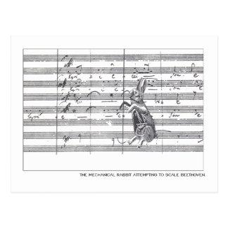 Mechanical Rabbit Beethoven Postcards