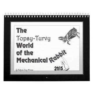 Mechanical Rabbit Calendar