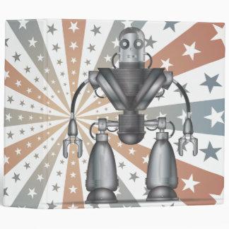 Mechanical Robot Cartoon Binder