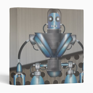 Mechanical Robot Cartoon Binder