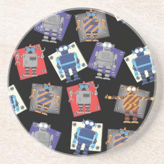 Mechanical Robot Cartoon Coaster