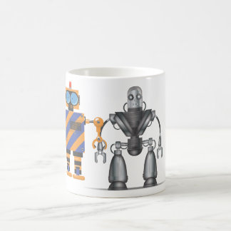 Mechanical Robot Cartoon Coffee Mug