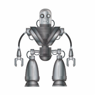 Mechanical Robot Cartoon Cutout