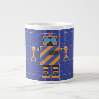 Mechanical Robot Cartoon Giant Coffee Mug