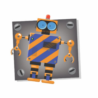 Mechanical Robot Cartoon Photo Cutout